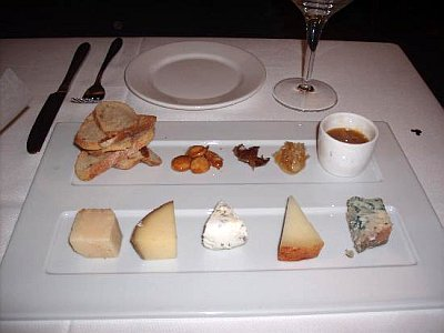 Good Eats - Cheese Plate at California Grille