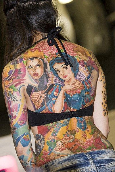 snow white tattoo disney ink disney dispatch